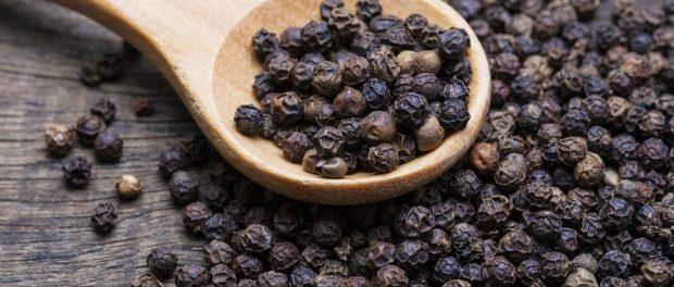 Pimienta negra para vitiligo, adelgazar y más